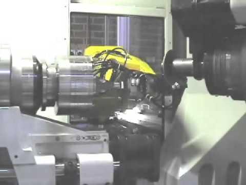 ANCA TX7+ Robot Loading Spade Drill