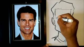 How To Draw A Caricature Using Easy Basic Shapes