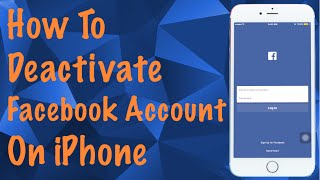 How To Deactivate Facebook Account on Iphone
