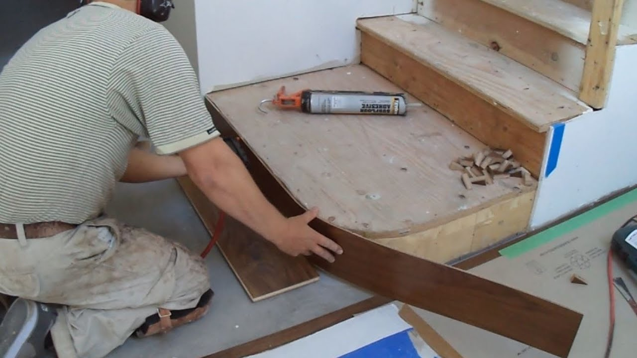 How To Install Hardwood Stairs Curved Stairs Riser