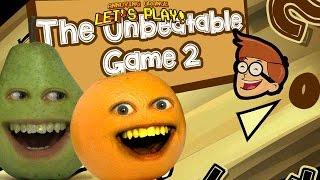 Annoying Orange - AO & Pear Play THE UNBEATABLE GAME!