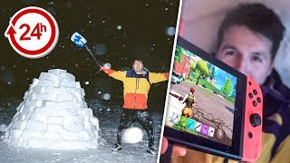 I SPENT 24 HOURS IN AN IGLOO
