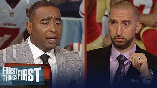 Nick and Cris react to Kaepernick's Nike campaign | NFL | FIRST THINGS FIRST