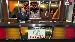 Campy Russell can't believe LeBron James isn't leader of NBA MVP race l CAVS LIVE