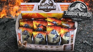 Jurassic Mystery Bags!!! - Jurassic World Fallen Kingdom Review and Unboxing