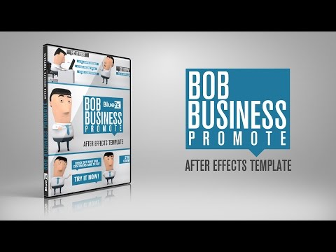 Bob Business Promoter After Effects Templates