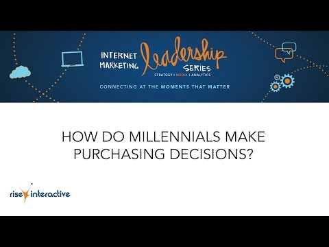 Rise Interactive Millennial Consumer Focus Group - Purchasing Behavior