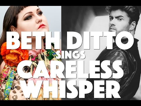 Beth Ditto performs George Michael's Careless Whisper at Omeara