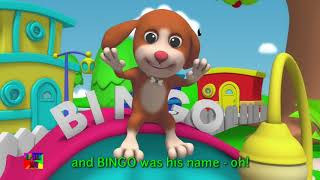 BINGO children song (with lyrics)