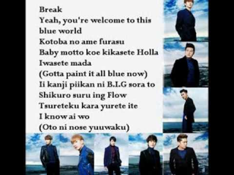 BLUE WORLD by SUPER JUNIOR (LYRIC)