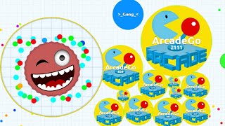 AGARIO SPAWNER CELL TROLLING PEOPLE IN EXPERIMENTAL MODE Agar.io Funny Moments!