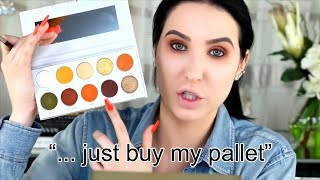 jaclyn hill pushing her brand for 2 minutes straight