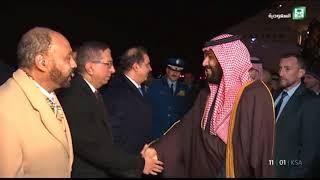 وصول سمو ولي العهد الأمير محمد بن سلمان إلى العاصمة واشنطن     -