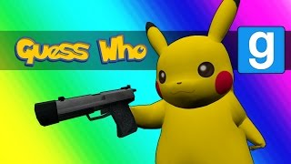 Gmod Guess Who - Pokemon Edition! (Garry's Mod)