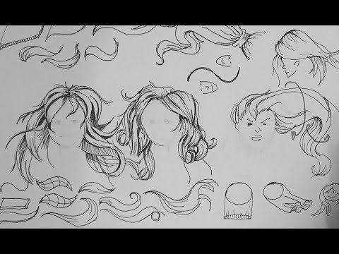 Pen and Ink Drawing Tutorials | How to draw long straight ...