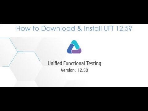 HP UFT 12 5 Installation Process