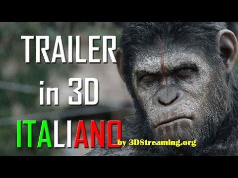 APES Revolution - Pianeta delle scimmie Trailer in 3D italiano