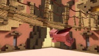 Minecraft: PORCO VOADOR! – BUILD BATTLE MINI GAME