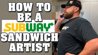 "What Kenny Do? Episode 11: ""How To Be A Subway Sandwich Artist"""