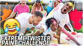 EXTREME TWISTER PAINT CHALLENGE!!!