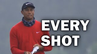 Tiger Woods Final Round at the 2020 PGA Championship | Every Shot