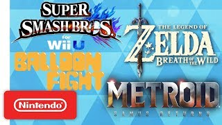 The Legend of Zelda: Breath of the Wild, Super Smash Bros. & More!   NWC 2017 (Pt. 1) Highlights