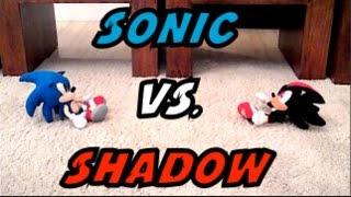 Sonic Plush Adventures - Sonic VS Shadow BATTLE!