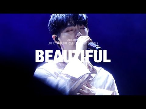 [4K] 180204 Beautiful - JBJ 용국 김용국 jinlongguo 솔로무대