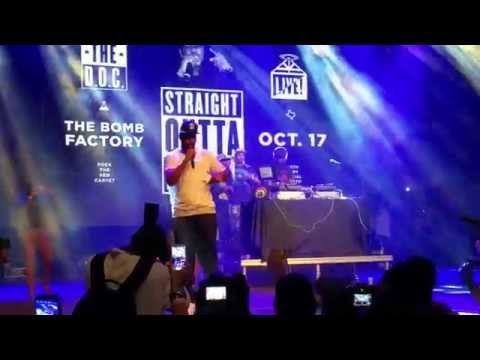 The D.O.C. Performs With His Real Voice For The First Time
