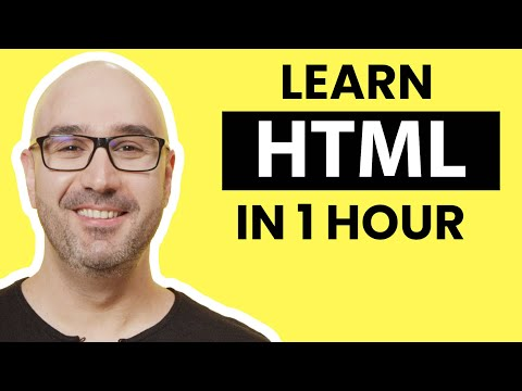 HTML Tutorial for Beginners: Learn HTML in 1 Hour Crash Course
