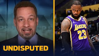 Lakers should be very concerned, LeBron's health, AD's struggles — Broussard | NBA | UNDISPUTED