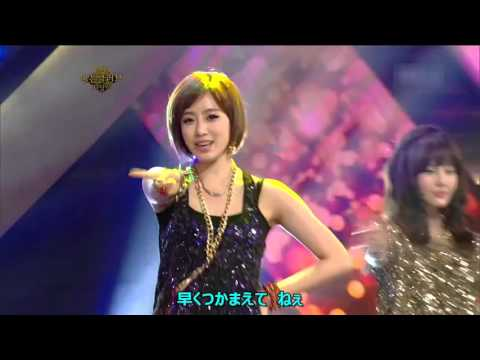 T - ARA  Lovey  Dovey(Japanese Ver) Live compilation 日本語歌詞