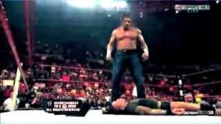 Randy Orton Destroys The Evolution - Part 2/2