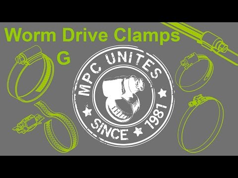 Worm Drive Clamp MPC G