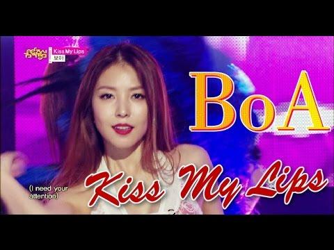 [HOT] BoA - Kiss My Lips, 보아 - 키스 마이 립스, Show Music core 20150523