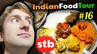 NORTH INDIAN FOOD Tour #16 // Gulati Restaurant Buffet in New Delhi