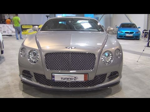Bentley Continental GT W12 (2015) Exterior and Interior in 3D