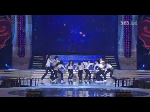 SNSD No1 2007 SBS Gayo Daejun 12292007