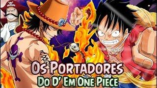 Os Portadores Do D' Em One Piece