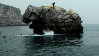 Coasteering jumps