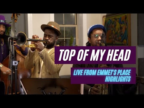 Emmet Cohen Trio feat. Giveton Gelin & Patrick Bartley | Top of My Head by Roy Hargrove