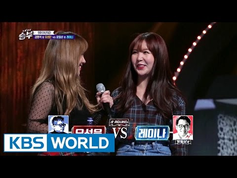 Can their relationship be so good like this? [Singing Battle / 2016.12.28]
