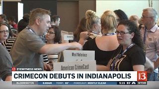 CrimeCon opens in Indianapolis