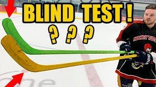 Blind performance hockey stick test - Big Manufacturer vs New Small Brand