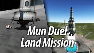 Mun Landing on Two Biomes (Beginner Tutorial: Part 8
