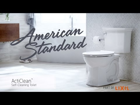 ActiClean Self-Cleaning Toilet from American Standard – Features & Benefits