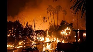 Massive FIRES Ravage CALIFORNIA 200,000 Flee, State of Emergency 12.6.17