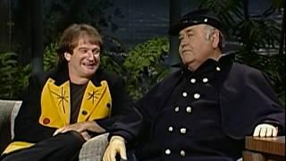 Robin Williams on Carson w/ Jonathan Winters 1991