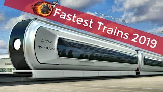 /top 10 fastest high speed trains in the world 2019