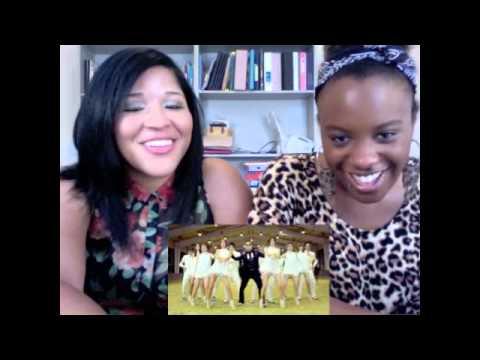 PSY Gangnam Style MV Reaction